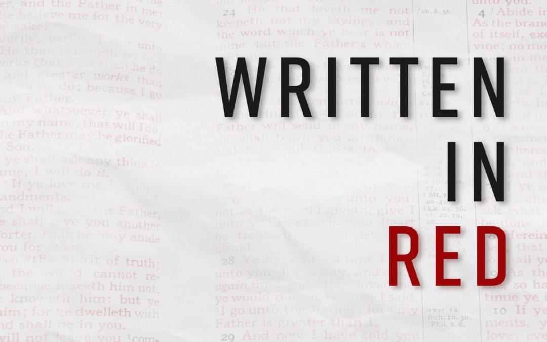 Written in Red – Part 1